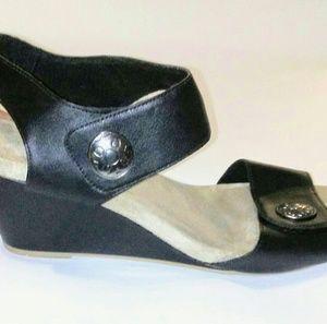 ComfortPlus black wedge sandal Size 12